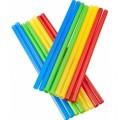 solid straight straw