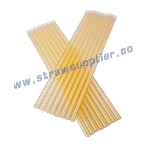 metallic straight straw